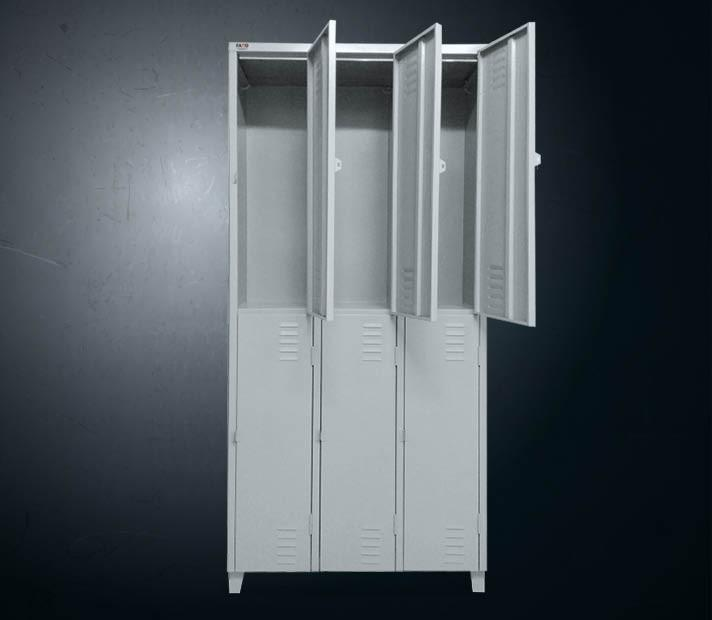 Armário de aço 6 portas