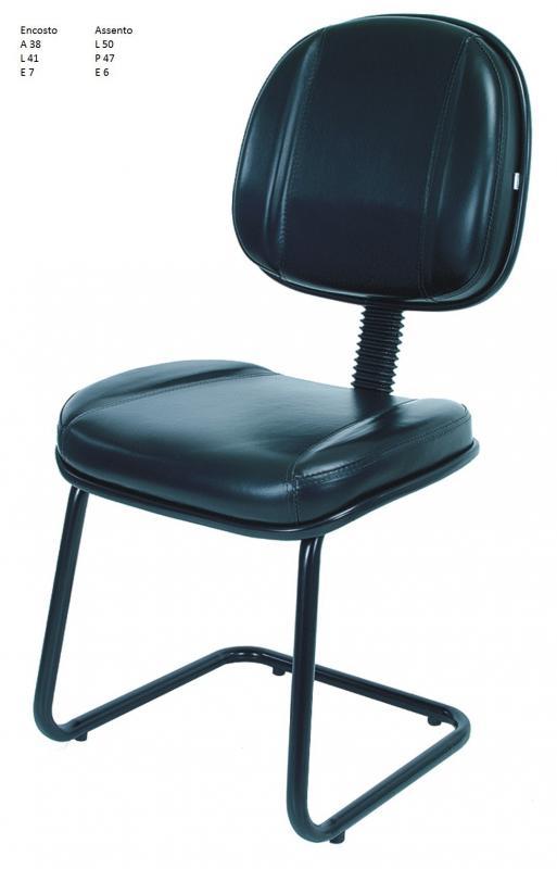 Cadeira de aço para loja